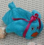 blauer, kleiner Fisch